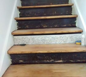 Perfect Stair Risers Wallpaper Border, Stairs, Wall Decor