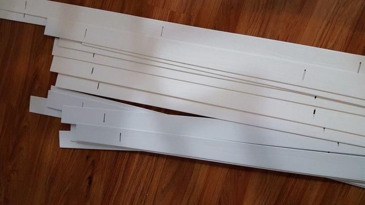 Extra blind slats