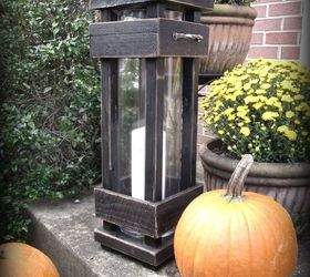 Diy Exterior Porch Lanterns, Home Decor, Lighting, Outdoor Living, Pallet,  Woodworking