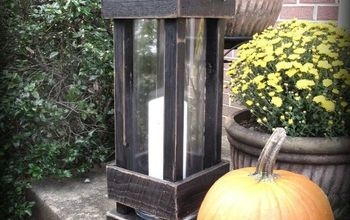 DIY Exterior Porch Lanterns