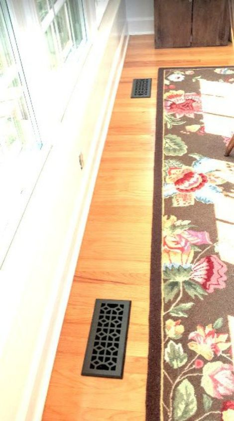 s hide your ugly vent with these 7 brilliant ideas, hvac, The fix Replace it with a fancy vent