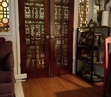 giving new life to the old, window treatments