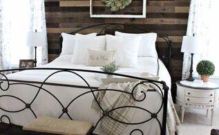 pallet board master bedroom wall, bedroom ideas, pallet