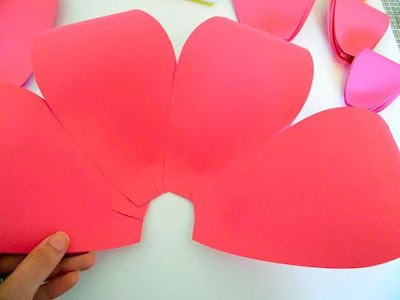 How to make easy diy giant paper flowers hometalk how to make easy diy giant paper flowers crafts gardening how to mightylinksfo Choice Image