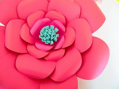 How to make easy diy giant paper flowers hometalk how to make easy diy giant paper flowers crafts gardening how to mightylinksfo Images