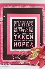 inspirational breast cancer awareness sign, crafts, home decor