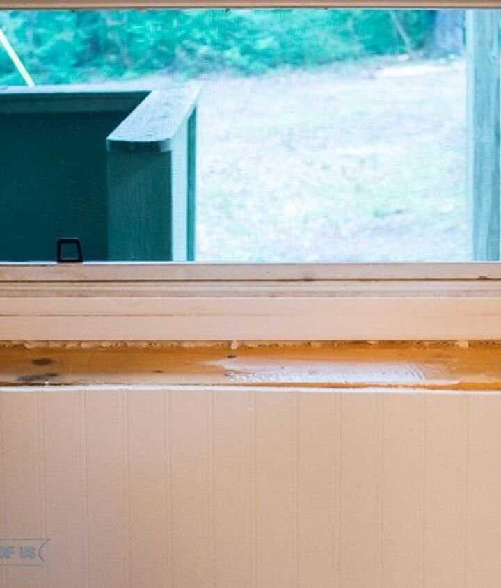 the power of trim installing trim at the cabin, flooring, home improvement, how to, kitchen design, woodworking projects