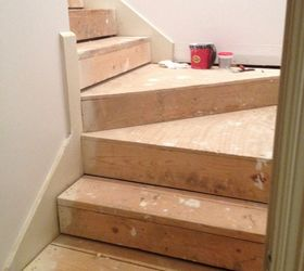 Nasty Carpeted Stairs Go To Mosaic Garden Path Magic , Stairs, Yucky Bare  Bones Of