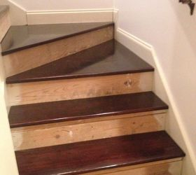 Nasty Carpeted Stairs Go To Mosaic Garden Path Magic , Stairs, Gorgeous  Retro Fitted Fir