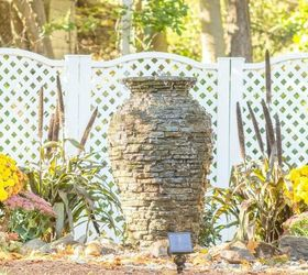 Diy Backyard Water Fountain, Gardening, Home Decor, Home Maintenance  Repairs, Landscape,