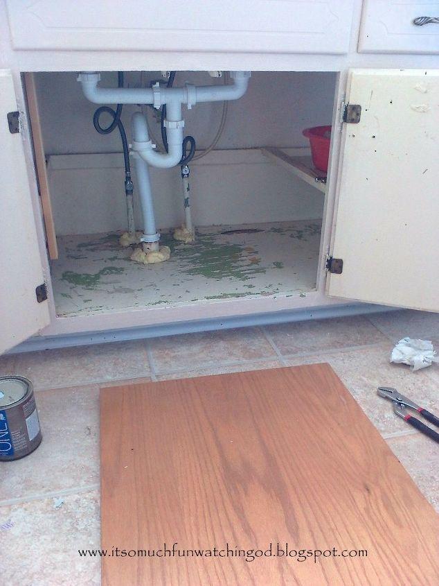 don t break your back under the kitchen sink, bathroom ideas, kitchen design, plumbing