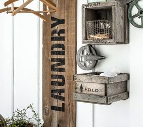 Industrial Farmhouse Laundry Hangups You Ll Want , Closet, Crafts, Fences,  Home Decor