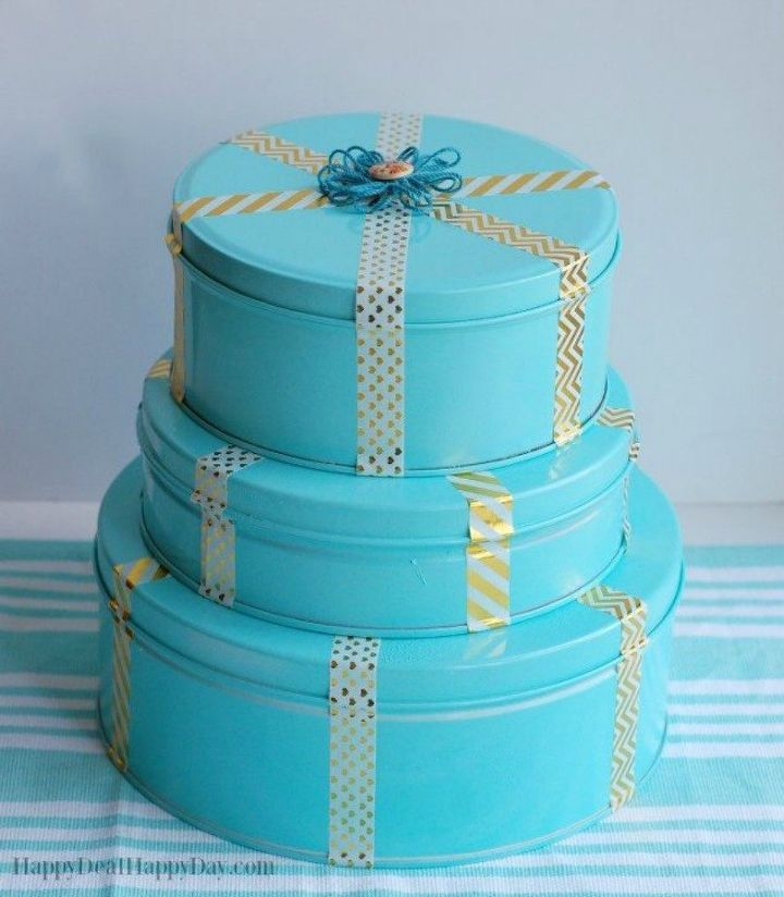 s 20 christmas gift ideas for under 20, These chic and pretty cookie tins