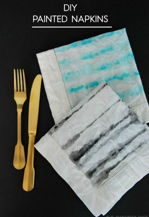 s 20 christmas gift ideas for under 20, These stunning watercolor napkins