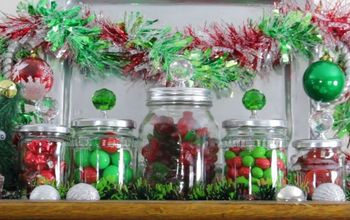 Turn Empty Jars Into Stylish Christmas Candy Jars