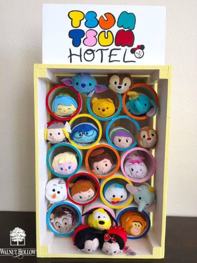 s 11 amazing toy storage ideas from highly organized moms, organizing, storage ideas, Use PVC pipe for beanie babies and small toys