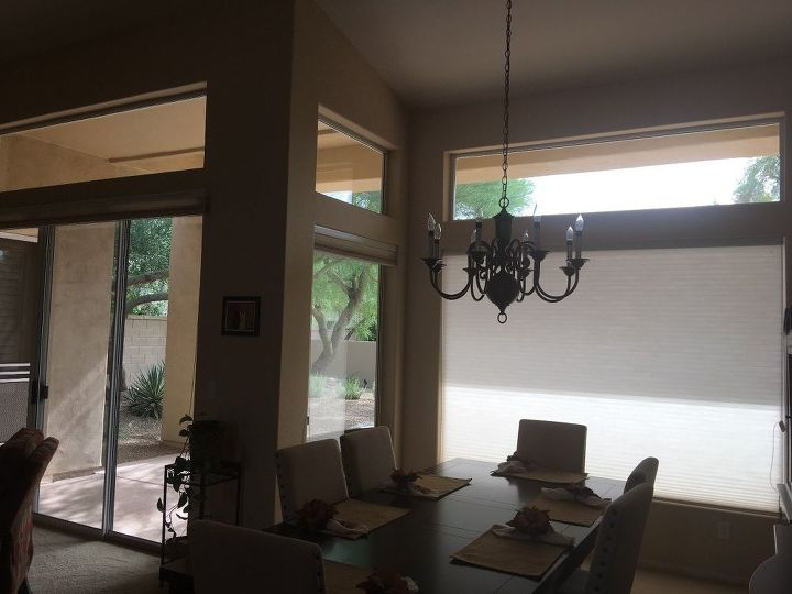 q need to install blinds or shutters ourselves , home decor, window treatments, Living room