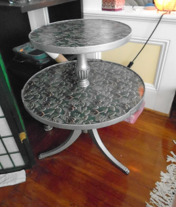 end table redo , painted furniture