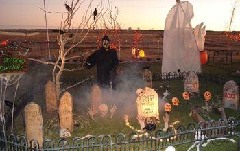 love halloween here are some fun diy yard decorations and some pic, halloween decorations, seasonal holiday decor