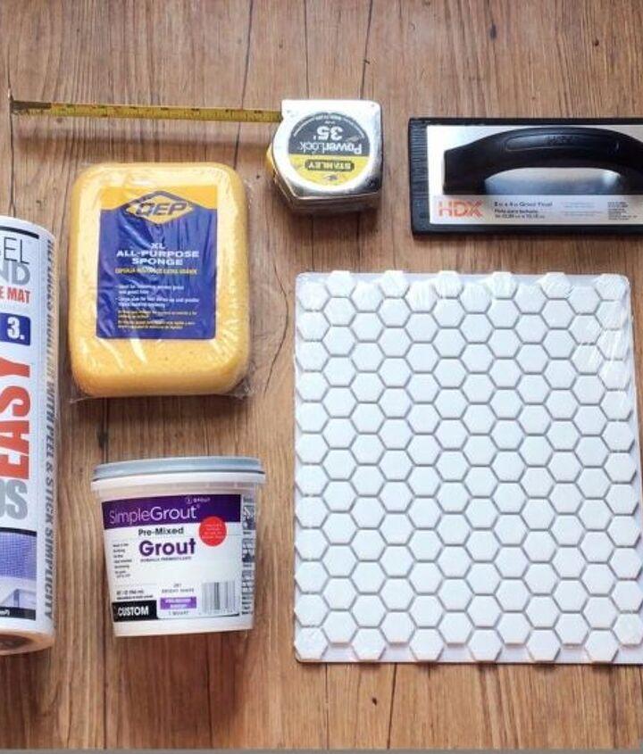 easy stick n peel tile, bathroom ideas, cleaning tips, countertops, kitchen backsplash, kitchen design, outdoor living, plumbing, tiling