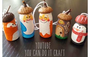 dwarf and the company handmade christmas ornaments, christmas decorations, seasonal holiday decor