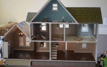dollhouse remodel bashing part ii, home improvement