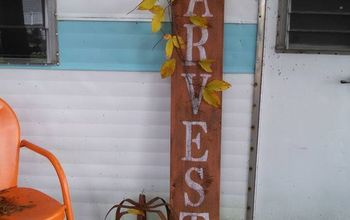 Make an Easy Sign for Fall!