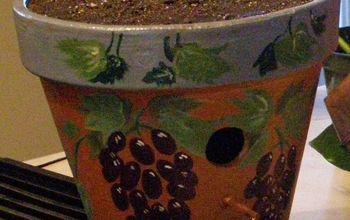 flower pot bird house, gardening, landscape, outdoor living