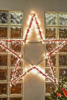 diy lighted christmas stars, christmas decorations, crafts, flooring, halloween decorations, home decor, lighting, painted furniture, painting, pallet, pest control, repurposing upcycling, seasonal holiday decor