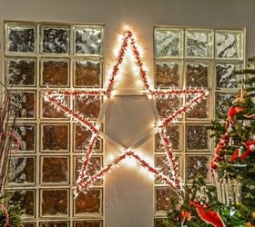 Diy Lighted Christmas Stars, Christmas Decorations, Crafts, Flooring,  Halloween Decorations, Home