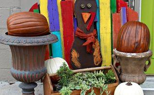 make your own pallet turkey tom, pallet, seasonal holiday decor
