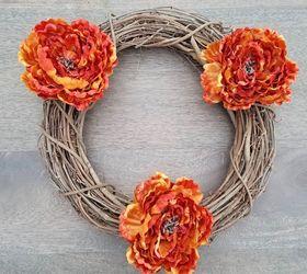 How To Create A Diy Thanksgiving Wreath For Your Front Door, Crafts, Doors,