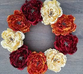 Captivating How To Create A Diy Thanksgiving Wreath For Your Front Door, Crafts, Doors,