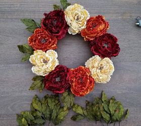 Good How To Create A Diy Thanksgiving Wreath For Your Front Door, Crafts, Doors,