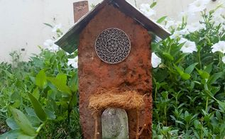 the easiest way to make a fairy house, concrete masonry, crafts, doors, gardening, home decor, how to, roofing
