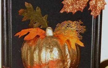 Framed Pumpkin