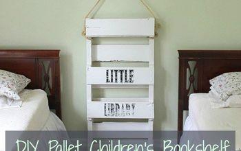 Diy Pallet Bookshelf For Kids Shelving Ideas Storage