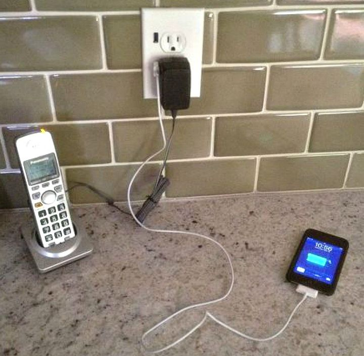 s hate your ugly outlet steal these 11 ideas, Turn it into a high tech station