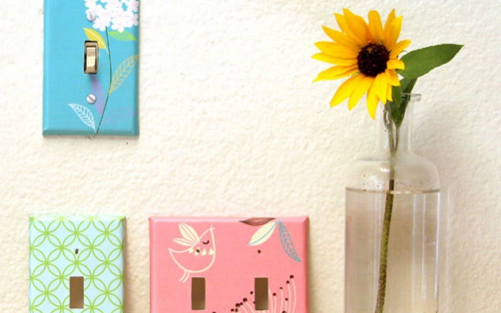 s hate your ugly outlet steal these 11 ideas, Give them personality with printable graphics