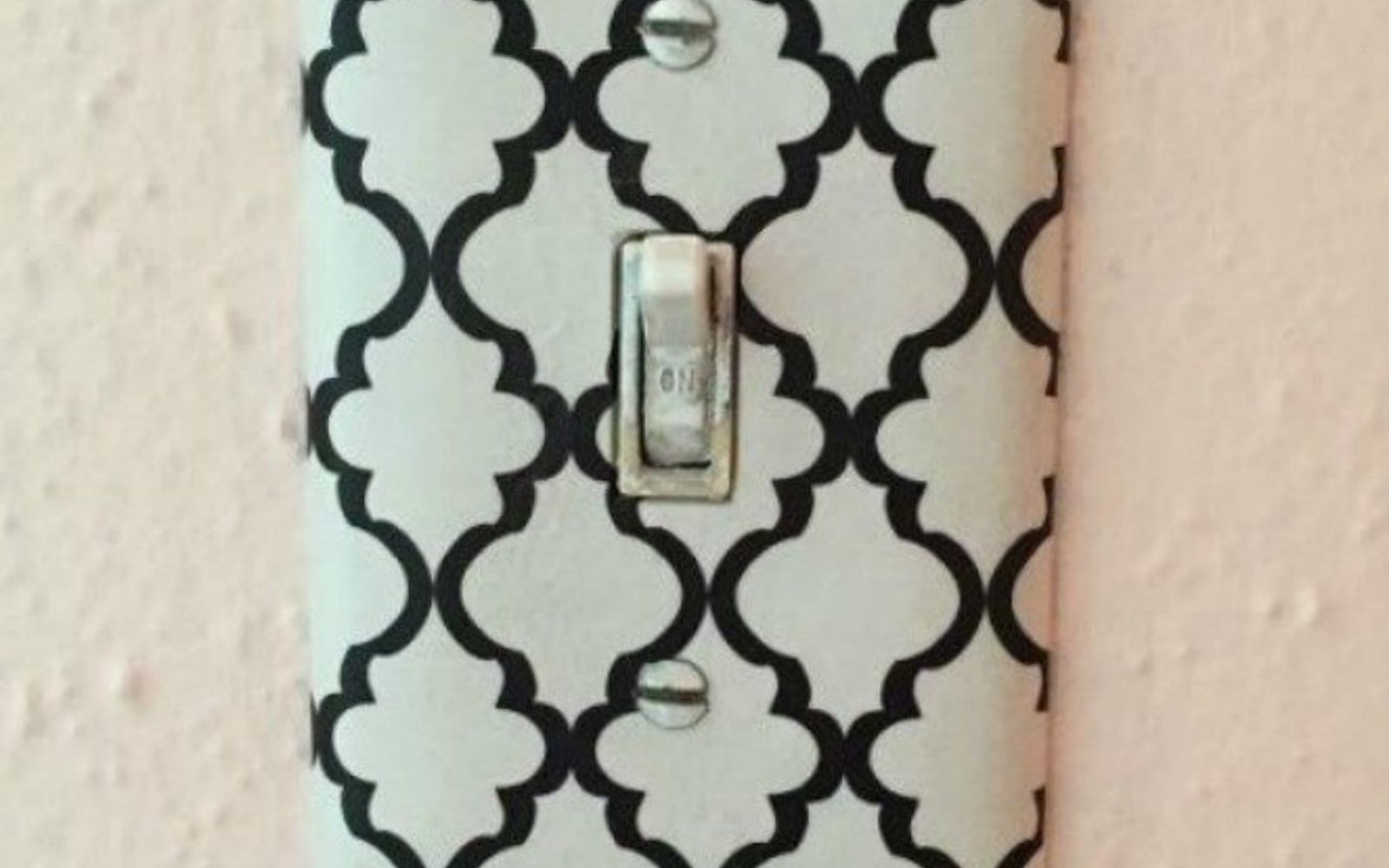 s hate your ugly outlet steal these 11 ideas, Mod podge patterned tissue paper