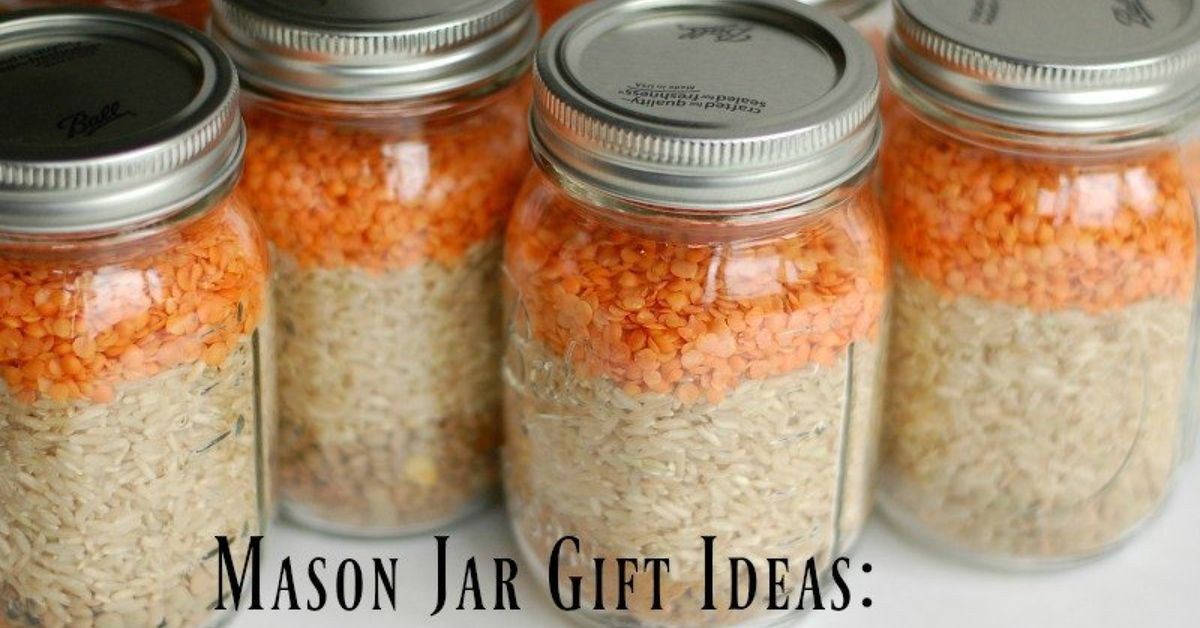 mason jar gift ideas curried lentil soup mix free printable recipe hometalk