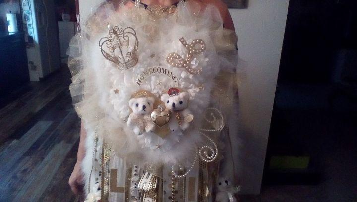 Christmas Homecoming Mum.Senior Homecoming Mum Hometalk