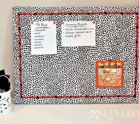 Cover A Bulletin Board With Fabric Part 26