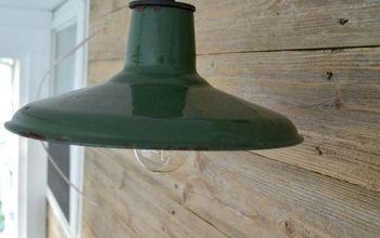 farmhouse diy porch lighting, lighting