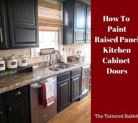 How To Paint Raised Panel Kitchen Cabinet Doors, Doors, Home Decor, Home  Improvement