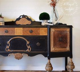 How To Refinish An Old Worn Out Buffet, Bedroom Ideas, Dining Room Ideas,