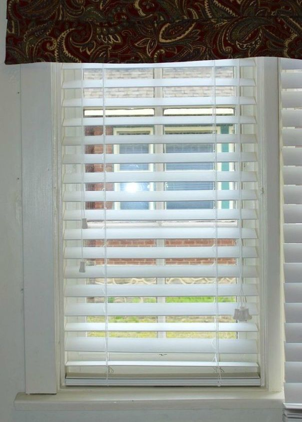 s 11genius ways to transform your ugly blinds, home decor, Shorten them to fit your window length