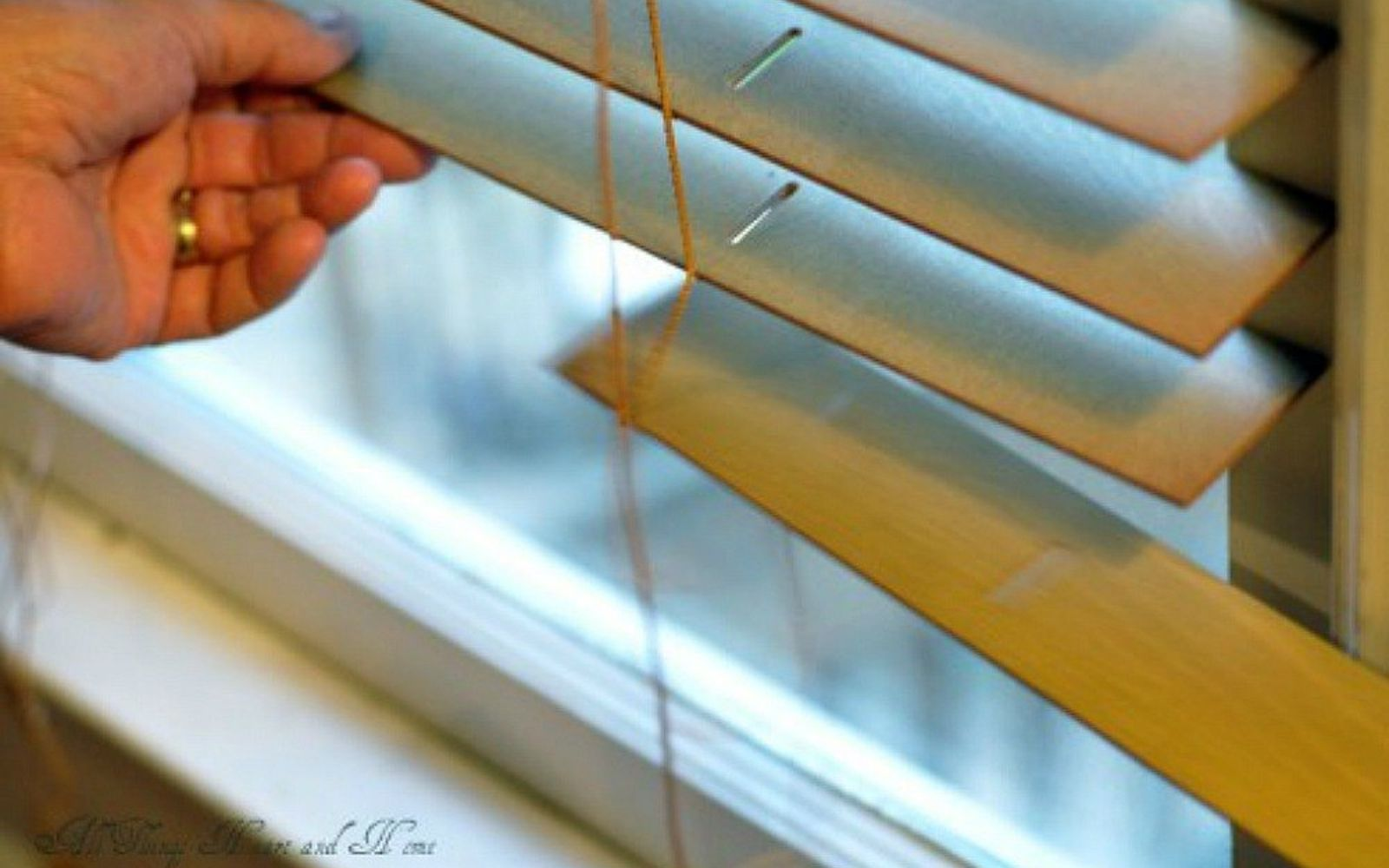 s 11genius ways to transform your ugly blinds, home decor, Repaint them for a fresh feel