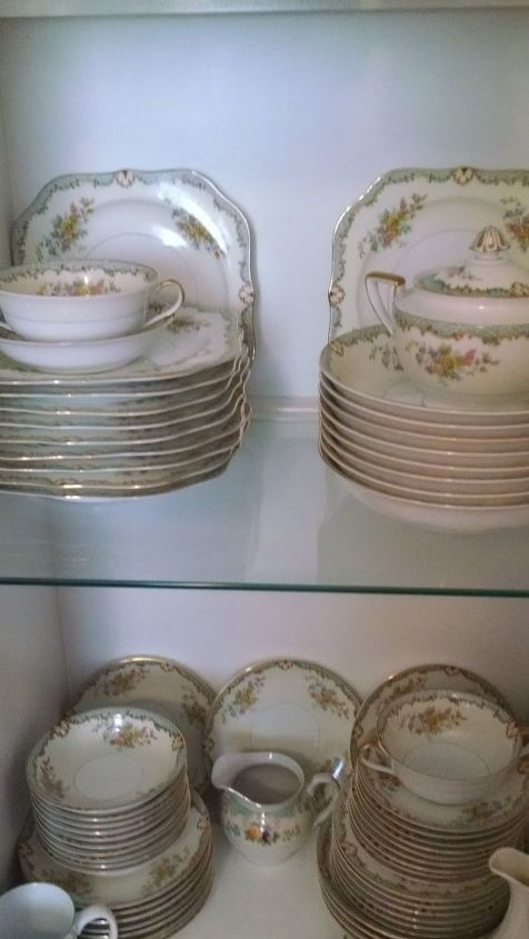 q how do you tell the value in old china dishes , home decor
