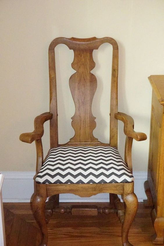 Sitting Pretty- How to Reupholster Dining Room Chair Seat Covers ...